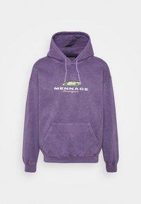 MENNACE MOTORSPORT HOODIE - Mikina - purple