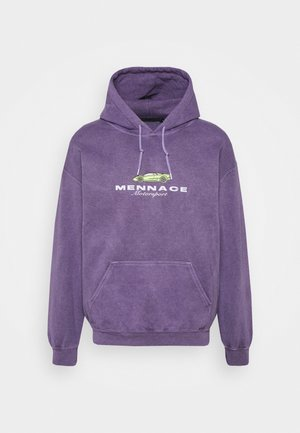MENNACE MOTORSPORT HOODIE - Sweater - purple