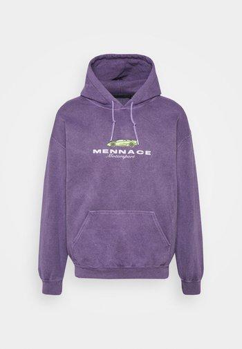 MENNACE MOTORSPORT HOODIE - Sweatshirt - purple