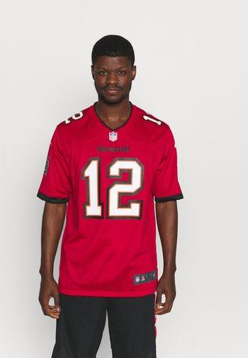 NFL TOM BRADY TAMPA BAY BUCCANEERS GAME - Club wear - gym red