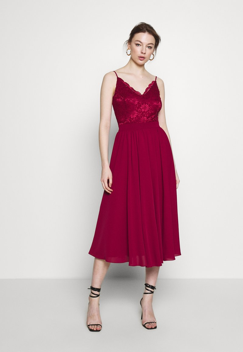 Swing - Cocktail dress / Party dress - weinrot