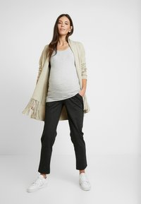 Anna Field MAMA - 2 PACK - Top - light grey/navypeacoat - 1