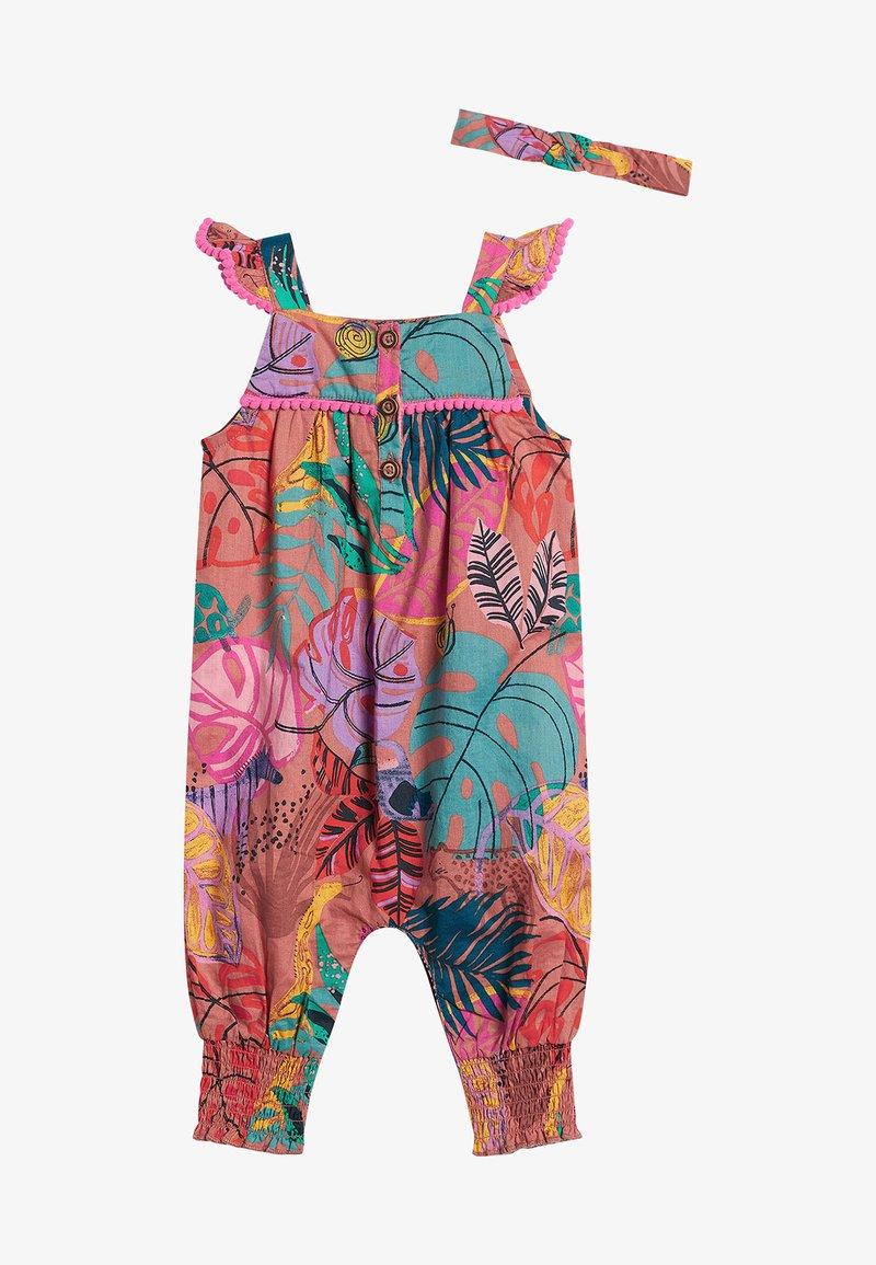 Next - SET - Jumpsuit - multi-coloured