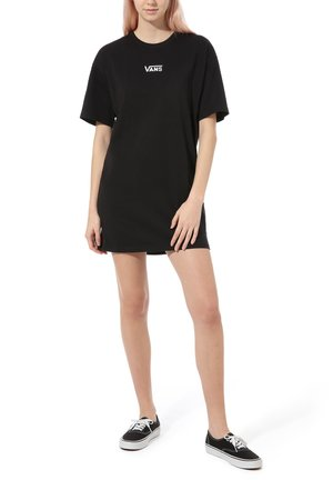 WM CENTER VEE TEE - Day dress - black