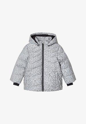 REFLEKTIERENDE LEOPARDENPRINT - Vinterjakker - frost gray