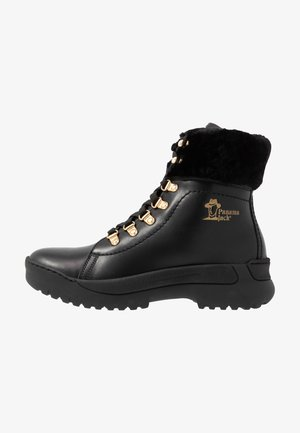 HELSINKI IGLOO - Platform ankle boots - black