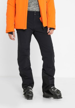 MEN FORMULA PANTS - Snow pants - black