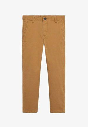 PICCOLO8 - Trousers - mostarda