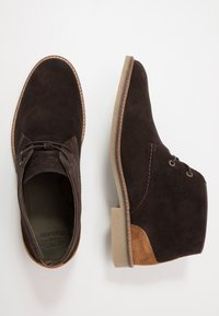Barbour - NELSON - Casual lace-ups - choco - 1