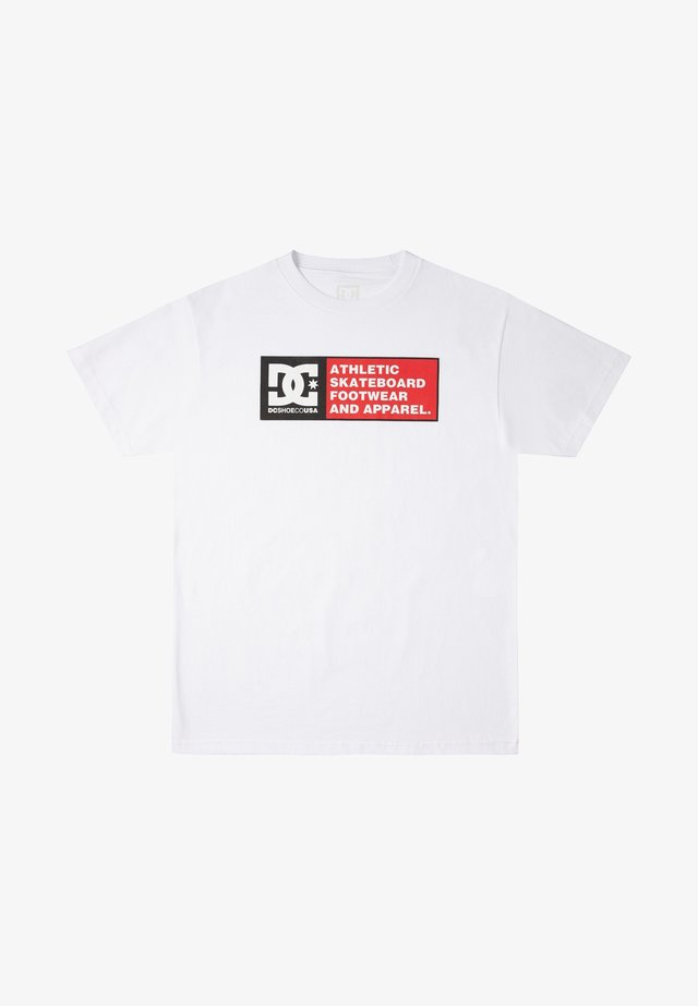 DENSITY ZONE - T-shirt imprimé - white