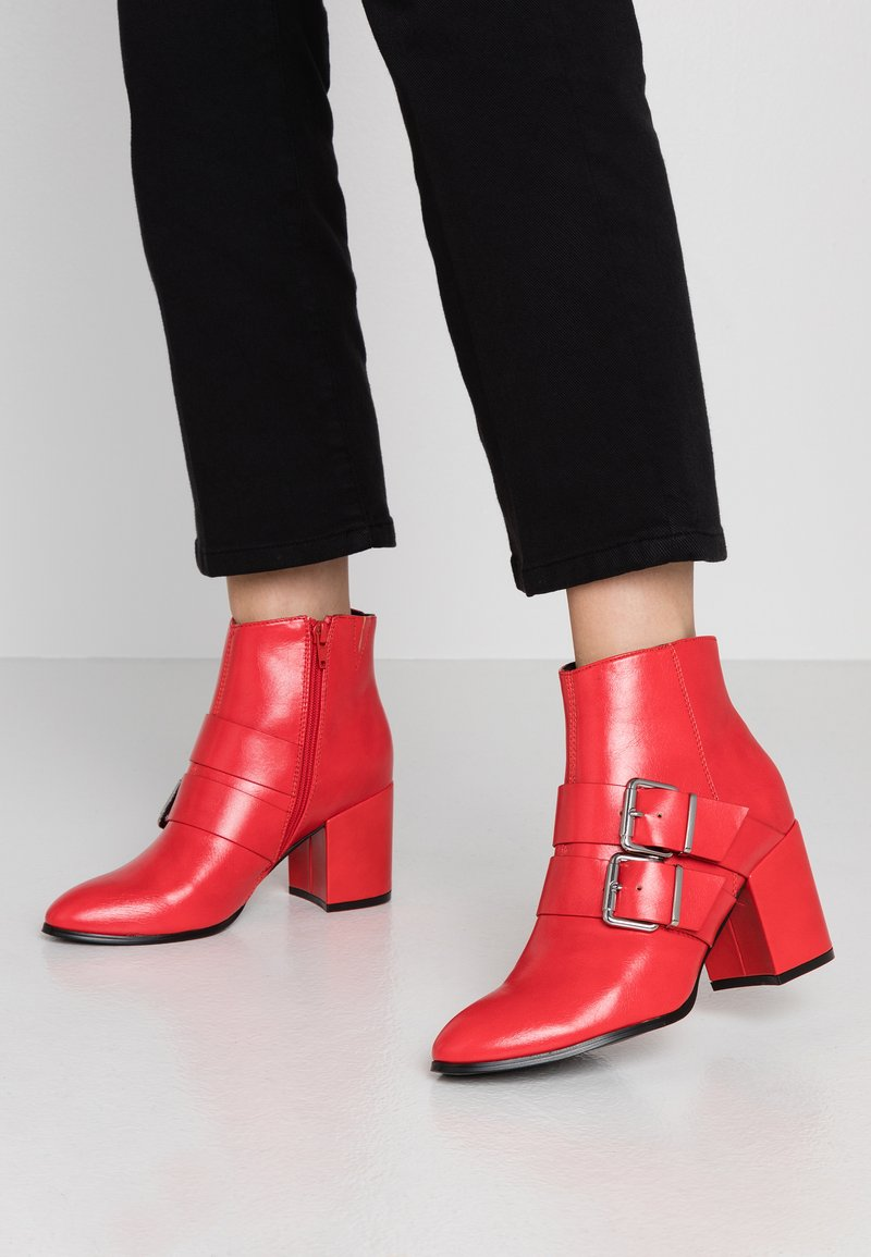Even&Odd - Ankle boots - red