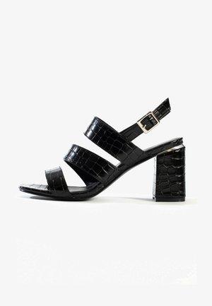 Sandaler - black melange