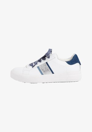 Trainers - white/jeans