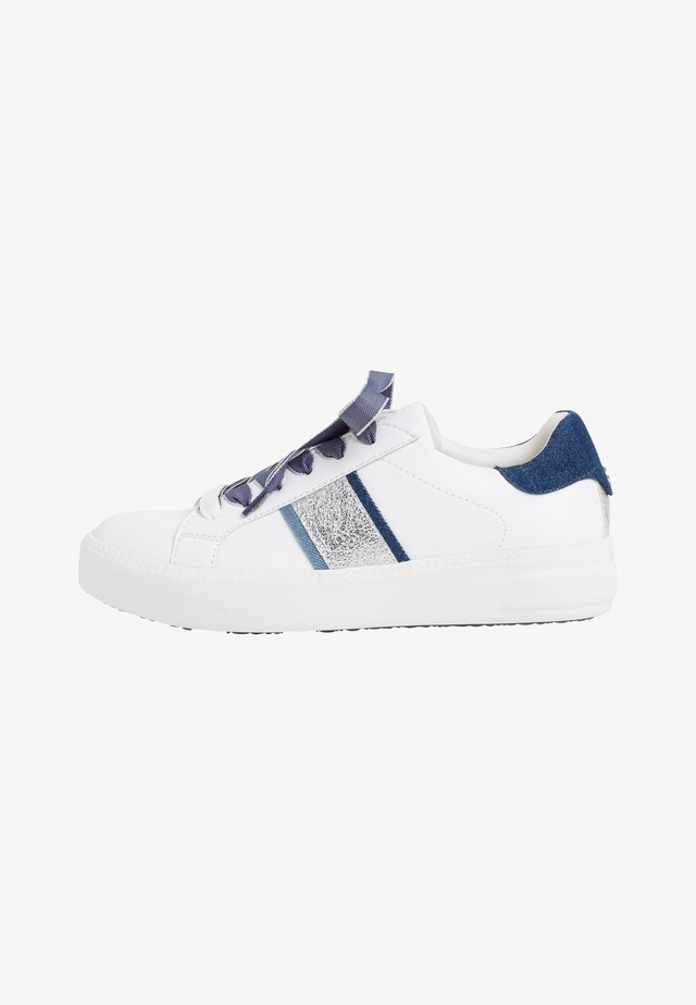 Baskets basses - white/jeans