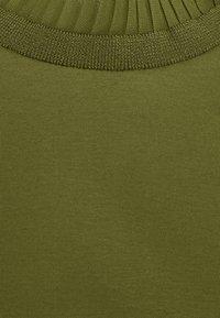 Scotch & Soda - TEE WITH SPECIAL LONG SLEEVES - Top sdlouhým rukávem - military green - 2