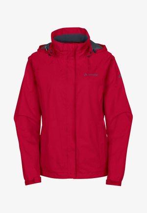 WOMENS ESCAPE BIKE LIGHT JACKET - Waterproof jacket - dark red