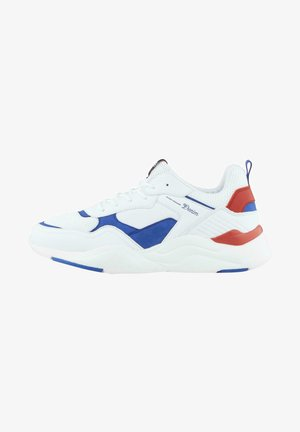 Trainers - white blue red