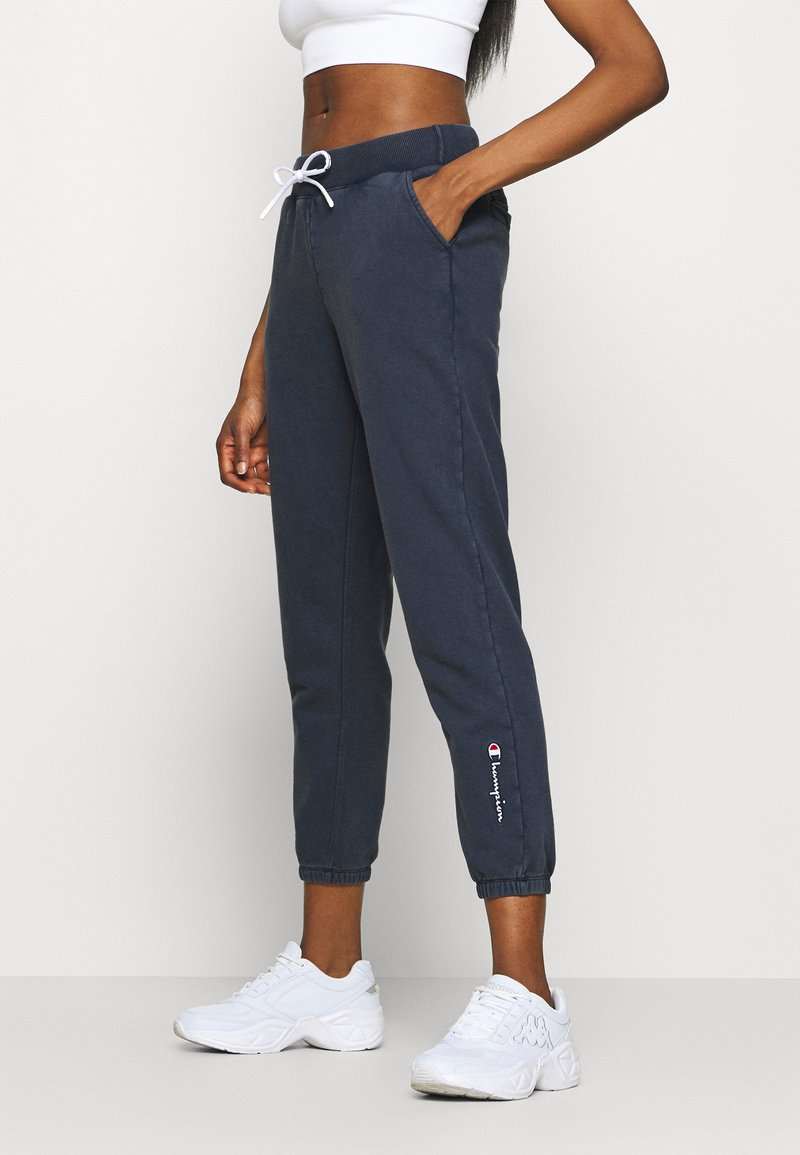 Champion - ELASTIC CUFF PANTS - Tracksuit bottoms - dark blue