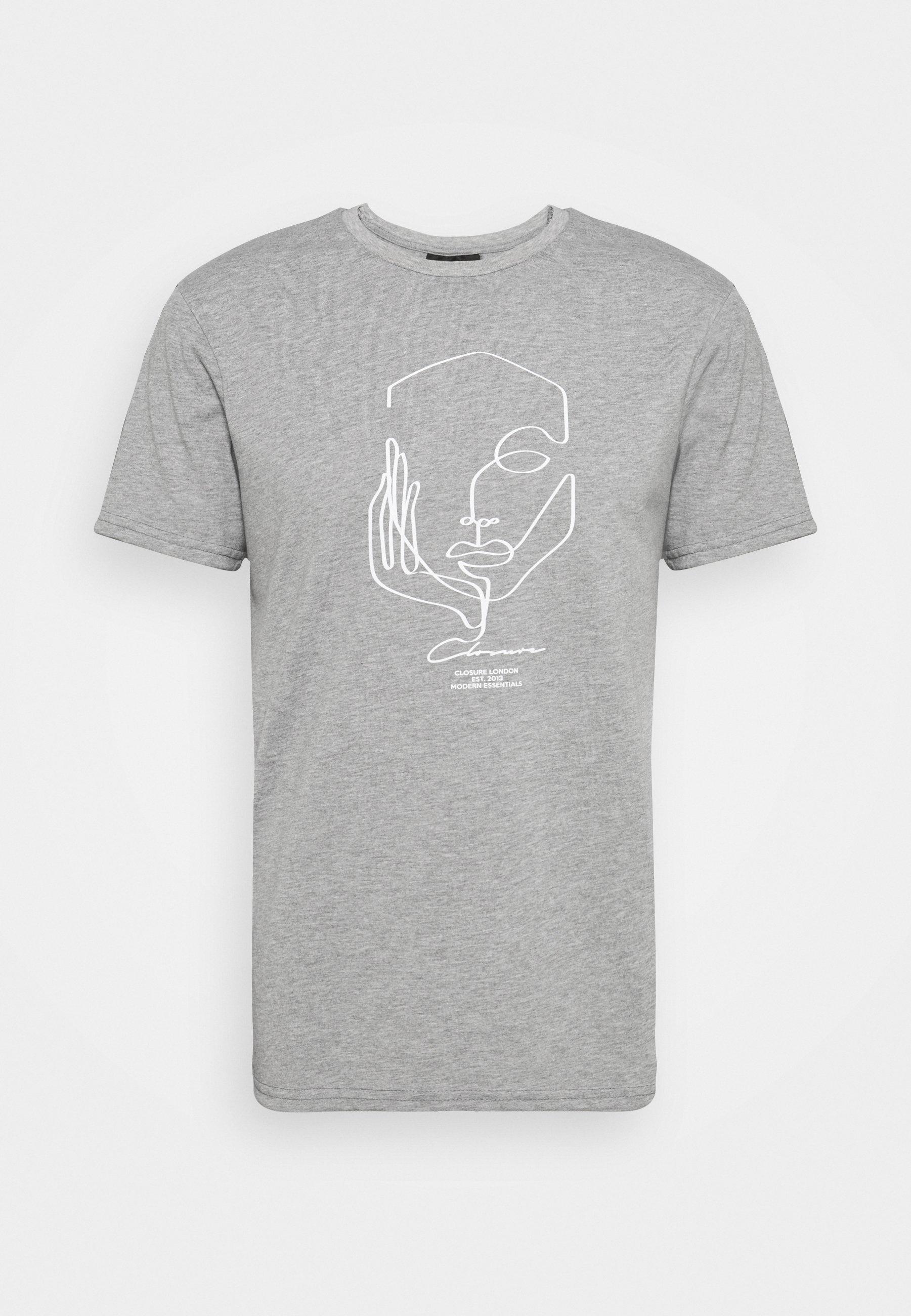 Men SILHOUETTE TEE - Print T-shirt