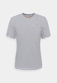 ALEX POCKET - Print T-shirt - white