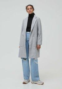 PULL&BEAR - Zimní kabát - grey - 0