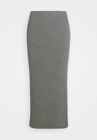 esmé studios - SKYLAR SKIRT - Pencil skirt - grey melange - 4