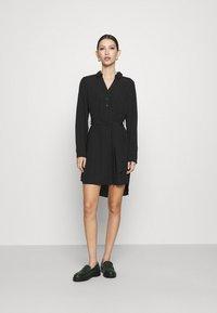 Vero Moda - VMBOA SHORT DRESS - Shirt dress - black - 1