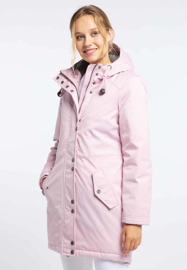Zimní kabát - powder pink