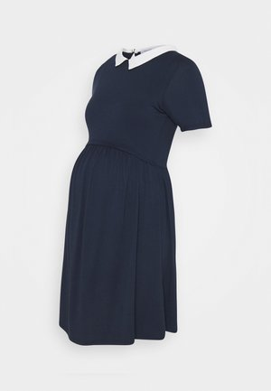 CAROLANE - Jersey dress - navy blue