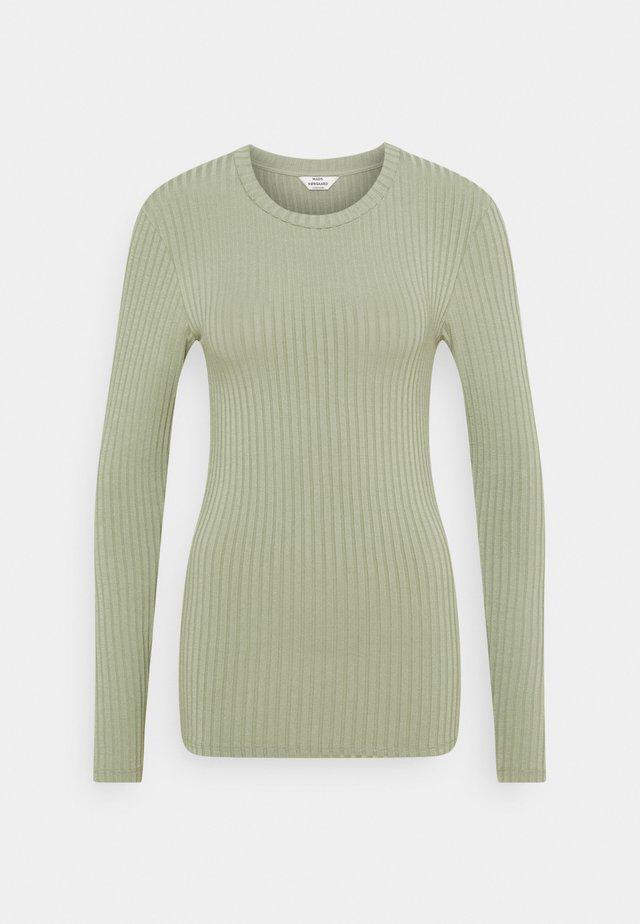 SOLID TUBA - T-shirt à manches longues - light army