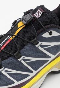 Salomon - XT-6 ADV UNISEX - Sneakers basse - india ink/lunar rock/maverick - 5