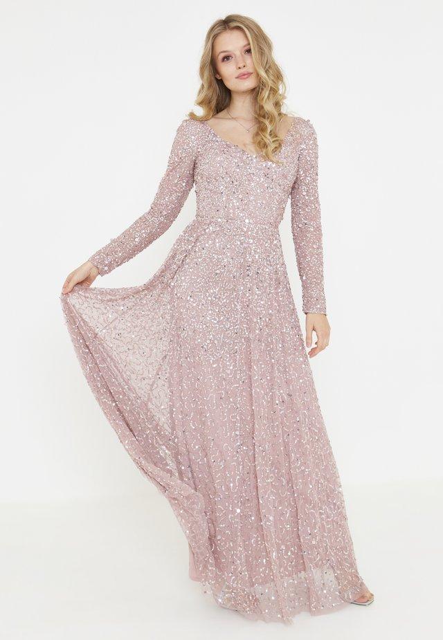 Suknia balowa - frosted pink