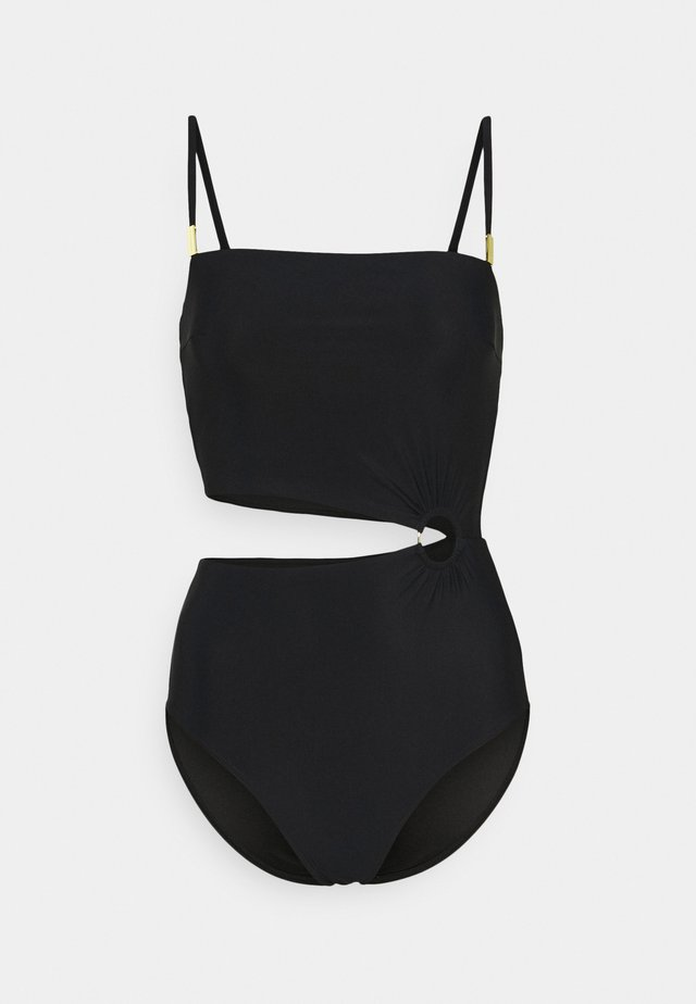 CORE SOLID CUT OUT ONE PIECE - Badpak - black