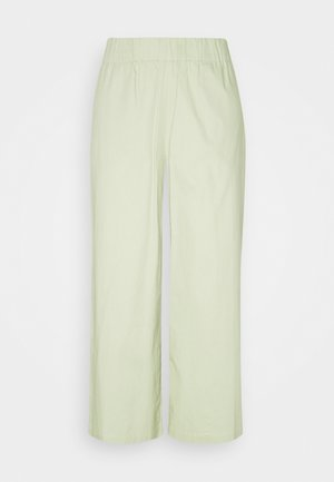 VILJA TROUSERS - Kalhoty - green dusty light