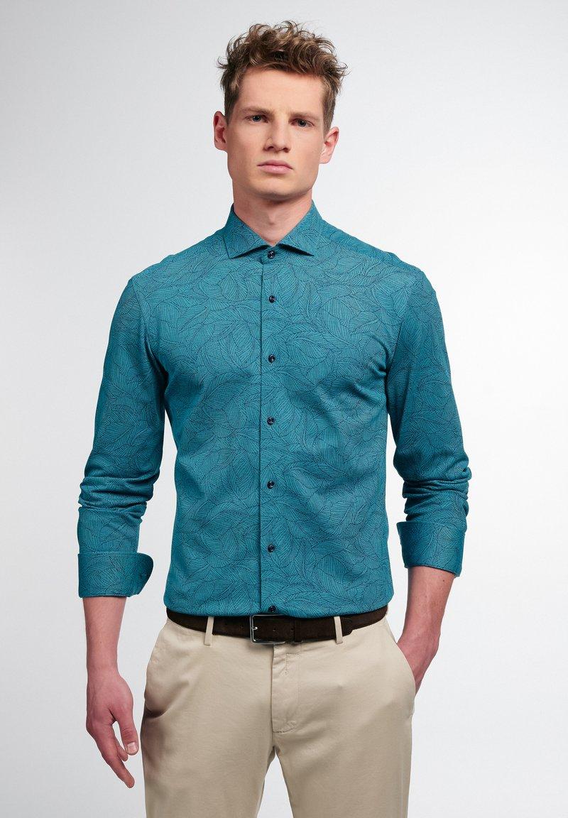 Eterna - Shirt - petrol