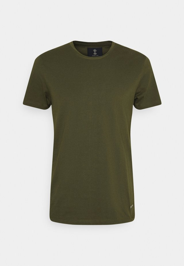 JESSE TEE 3 PACK - T-shirt basic - army