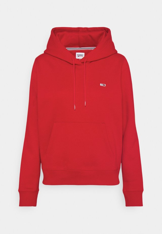 REGULAR HOODIE - Sweat à capuche - deep crimson