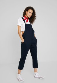 Element - LONG DAYZ OVERALL - Dungarees - eclipse navy - 1
