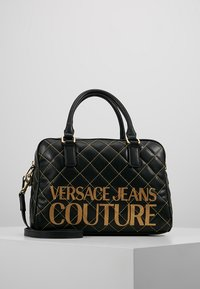 Versace Jeans Couture - QUILTED HANDBAG - Kabelka - nero - 0