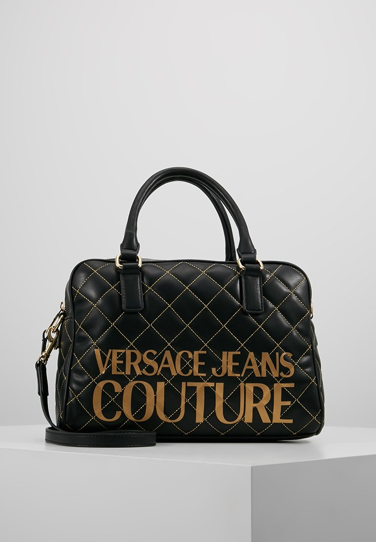 Versace Jeans Couture - QUILTED HANDBAG - Kabelka - nero