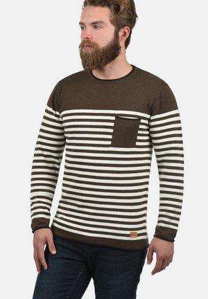 MANNIX - Sweatshirt - teak brown