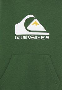 Quiksilver - BIG LOGO HOOD YOUTH - Hoodie - greener pastures - 2