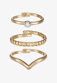 SPECIAL DESIGN 3 PACK - Anillo - gold-coloured