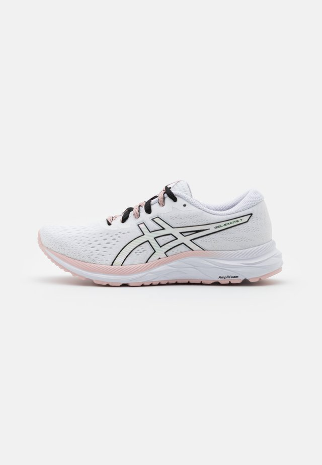 GEL-EXCITE 7 THE NEW STRONG - Scarpe running neutre - white/black