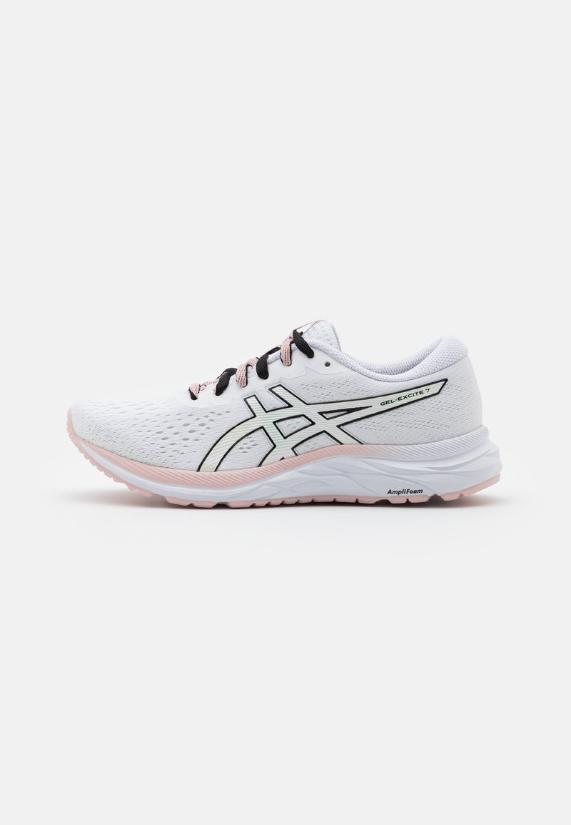 ASICS - GEL-EXCITE 7 THE NEW STRONG - Neutral running shoes - white/black