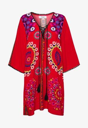 VEST CRETA - Blusa - rojo clavel