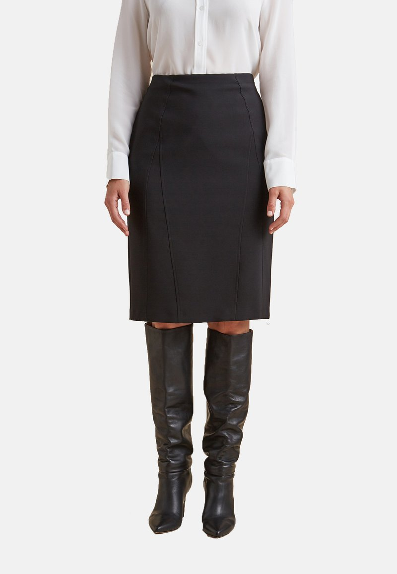 Elena Mirò - A-line skirt - nero