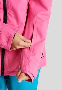 Wearcolour - CAKE JACKET - Snowboardjakke - post it pink - 4