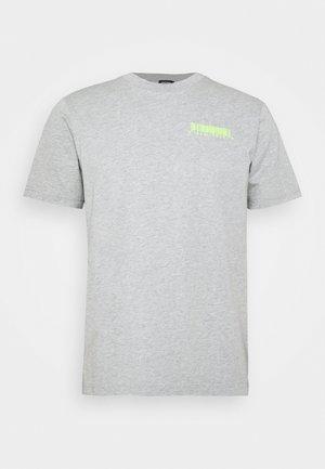 T-JUST-SLITS-X84 T-SHIRT - Print T-shirt - grey melange
