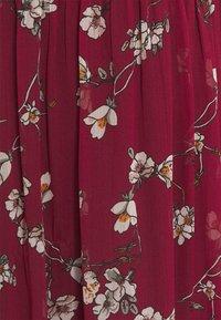 Vero Moda - VMWONDA WRAP DRESS - Maxi dress - tibetan red - 2